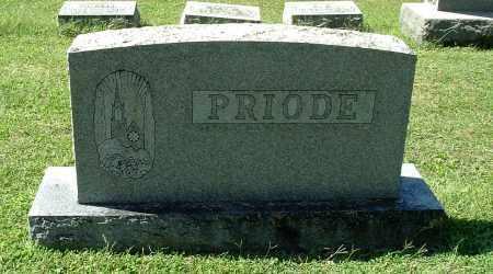 PRIODE, FAMILY MONUMENT - Gallia County, Ohio | FAMILY MONUMENT PRIODE - Ohio Gravestone Photos