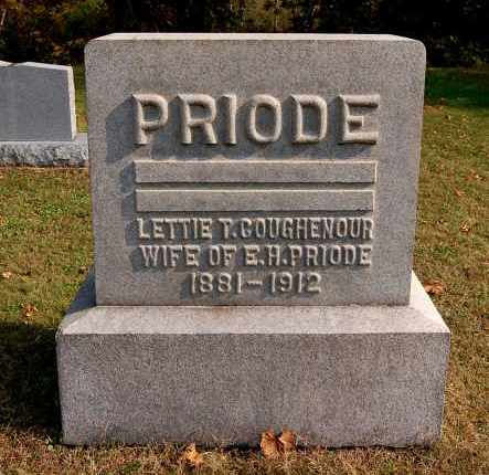 PRIODE, LETTIE T - Gallia County, Ohio | LETTIE T PRIODE - Ohio Gravestone Photos