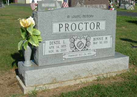 PROCTOR, BONNIE M - Gallia County, Ohio | BONNIE M PROCTOR - Ohio Gravestone Photos