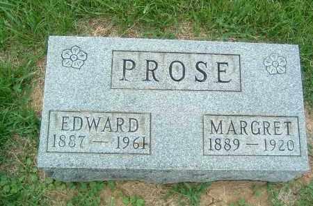 PROSE, MARGRET - Gallia County, Ohio | MARGRET PROSE - Ohio Gravestone Photos