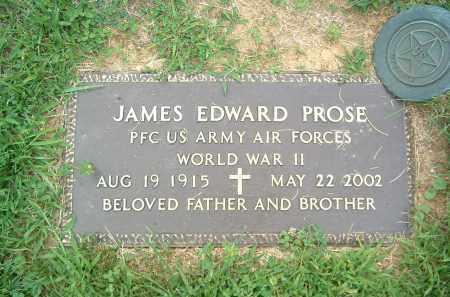 PROSE, JAMES EDWARD - Gallia County, Ohio | JAMES EDWARD PROSE - Ohio Gravestone Photos
