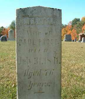 PROSE, MARY N. - Gallia County, Ohio | MARY N. PROSE - Ohio Gravestone Photos