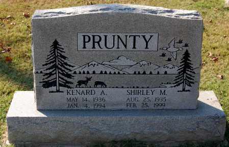 PRUNTY, KENARD A - Gallia County, Ohio | KENARD A PRUNTY - Ohio Gravestone Photos