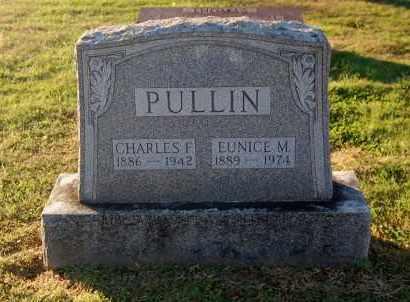 PULLIN, CHARLES F - Gallia County, Ohio   CHARLES F PULLIN - Ohio Gravestone Photos