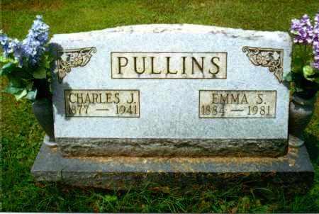 PULLINS, EMMA S. - Gallia County, Ohio | EMMA S. PULLINS - Ohio Gravestone Photos