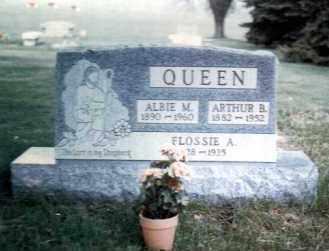 QUEEN, FLOSSIE A. - Gallia County, Ohio | FLOSSIE A. QUEEN - Ohio Gravestone Photos