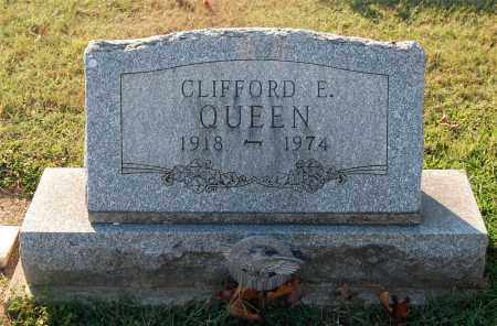 QUEEN, CLIFFORD E - Gallia County, Ohio | CLIFFORD E QUEEN - Ohio Gravestone Photos