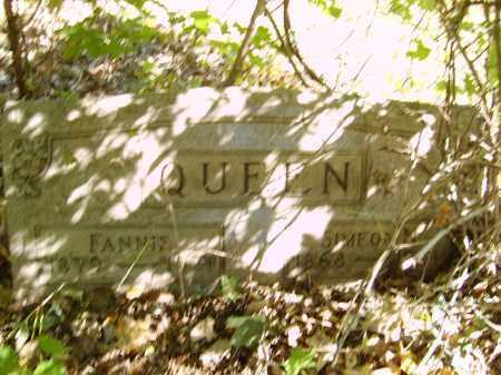 QUEEN, FANNIE - Gallia County, Ohio   FANNIE QUEEN - Ohio Gravestone Photos