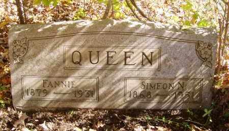 QUEEN, FANNIE - Gallia County, Ohio | FANNIE QUEEN - Ohio Gravestone Photos