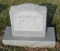QUEEN, MAYME M. - Gallia County, Ohio | MAYME M. QUEEN - Ohio Gravestone Photos