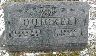 QUICKEL, DEMMIE L. - Gallia County, Ohio | DEMMIE L. QUICKEL - Ohio Gravestone Photos