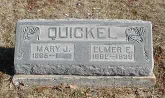 QUICKEL, MARY J. - Gallia County, Ohio | MARY J. QUICKEL - Ohio Gravestone Photos