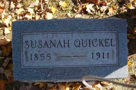 QUICKEL, SUSANAH - Gallia County, Ohio   SUSANAH QUICKEL - Ohio Gravestone Photos