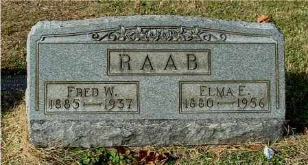 RAAB, ELMA E - Gallia County, Ohio | ELMA E RAAB - Ohio Gravestone Photos