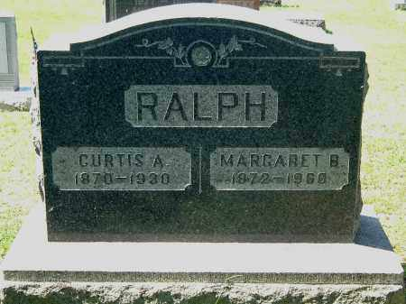 RALPH, CURTIS ASHWORTH - Gallia County, Ohio   CURTIS ASHWORTH RALPH - Ohio Gravestone Photos
