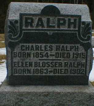 RALPH, CHARLES - Gallia County, Ohio   CHARLES RALPH - Ohio Gravestone Photos
