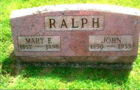 LEMLEY RALPH, MARY ELLEN - Gallia County, Ohio | MARY ELLEN LEMLEY RALPH - Ohio Gravestone Photos