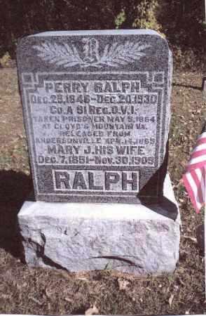 RALPH, PERRY - Gallia County, Ohio | PERRY RALPH - Ohio Gravestone Photos