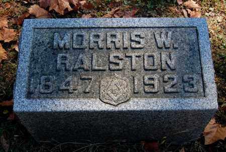 RALSTON, MORRIS W - Gallia County, Ohio   MORRIS W RALSTON - Ohio Gravestone Photos
