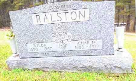 RALSTON, WILDA - Gallia County, Ohio | WILDA RALSTON - Ohio Gravestone Photos