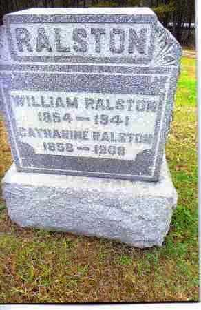 RALSTON, WILLIAM - Gallia County, Ohio | WILLIAM RALSTON - Ohio Gravestone Photos