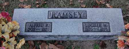 RAMSEY, ALFRED R - Gallia County, Ohio | ALFRED R RAMSEY - Ohio Gravestone Photos