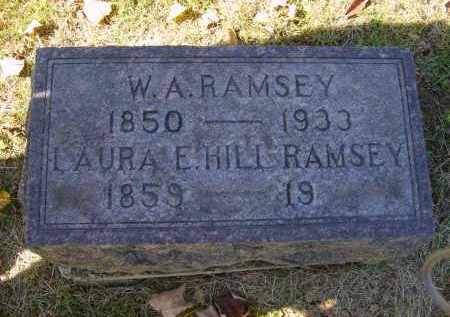 HILL RAMSEY, LAURA - Gallia County, Ohio | LAURA HILL RAMSEY - Ohio Gravestone Photos