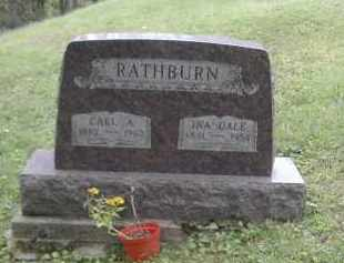 RATHBURN, INA DALE - Gallia County, Ohio   INA DALE RATHBURN - Ohio Gravestone Photos