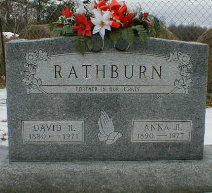 RATHBURN, DAVID - Gallia County, Ohio | DAVID RATHBURN - Ohio Gravestone Photos
