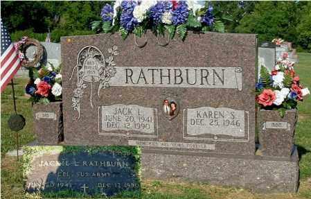 RATHBURN, KAREN S - Gallia County, Ohio | KAREN S RATHBURN - Ohio Gravestone Photos
