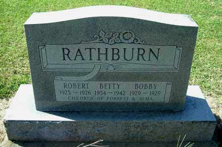 RATHBURN, BOBBY RICHARD - Gallia County, Ohio | BOBBY RICHARD RATHBURN - Ohio Gravestone Photos