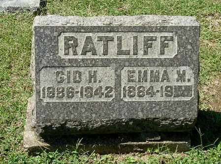 RATLIFF, EMMA M - Gallia County, Ohio | EMMA M RATLIFF - Ohio Gravestone Photos