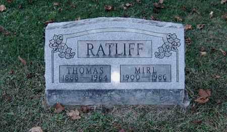 RATLIFF, THOMAS - Gallia County, Ohio   THOMAS RATLIFF - Ohio Gravestone Photos