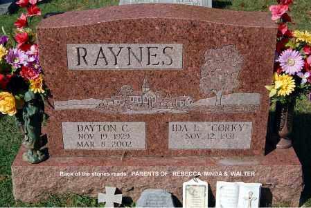 RAYNES, IDA - Gallia County, Ohio | IDA RAYNES - Ohio Gravestone Photos