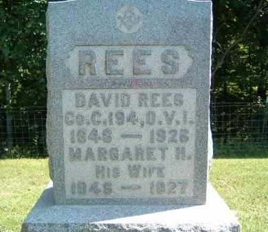 REES, DAVID - Gallia County, Ohio | DAVID REES - Ohio Gravestone Photos