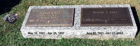 REES, ELAINE - Gallia County, Ohio   ELAINE REES - Ohio Gravestone Photos