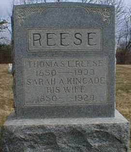 REESE, THOMAS - Gallia County, Ohio | THOMAS REESE - Ohio Gravestone Photos