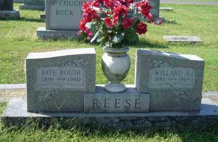 ROUSH REESE, FAYE - Gallia County, Ohio | FAYE ROUSH REESE - Ohio Gravestone Photos