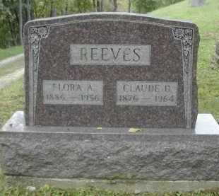 REEVES, FLORA - Gallia County, Ohio | FLORA REEVES - Ohio Gravestone Photos