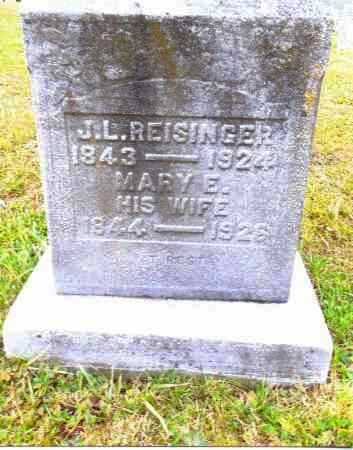 REISINGER, MARY E. - Gallia County, Ohio | MARY E. REISINGER - Ohio Gravestone Photos