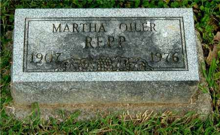 REPP, MARTHA - Gallia County, Ohio | MARTHA REPP - Ohio Gravestone Photos