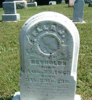 REYNOLDS, ELLA J. - Gallia County, Ohio | ELLA J. REYNOLDS - Ohio Gravestone Photos