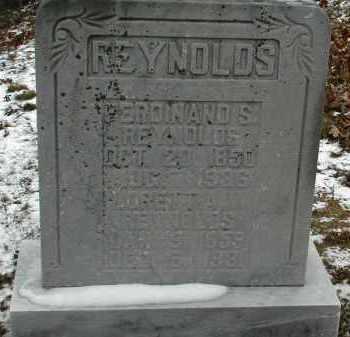 REYNOLDS, FERDINAND S. - Gallia County, Ohio | FERDINAND S. REYNOLDS - Ohio Gravestone Photos