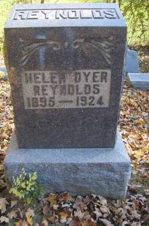 DYER REYNOLDS, HELEN - Gallia County, Ohio   HELEN DYER REYNOLDS - Ohio Gravestone Photos