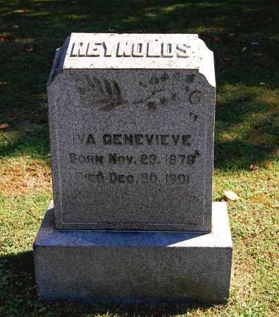 REYNOLDS, IVA GENEVIEVE - Gallia County, Ohio   IVA GENEVIEVE REYNOLDS - Ohio Gravestone Photos
