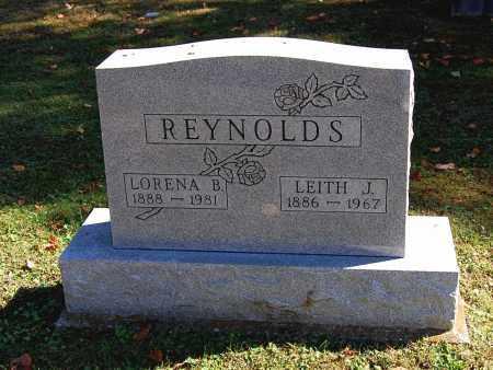 REYNOLDS, LEITH J - Gallia County, Ohio   LEITH J REYNOLDS - Ohio Gravestone Photos