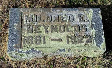 REYNOLDS, MILDRED E - Gallia County, Ohio | MILDRED E REYNOLDS - Ohio Gravestone Photos