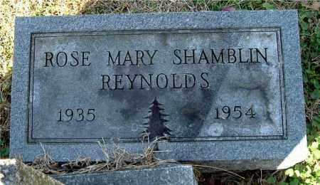 SHAMBLIN REYNOLDS, ROSE MARY - Gallia County, Ohio | ROSE MARY SHAMBLIN REYNOLDS - Ohio Gravestone Photos