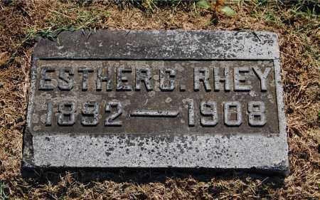 RHEY, ESTHER C - Gallia County, Ohio | ESTHER C RHEY - Ohio Gravestone Photos