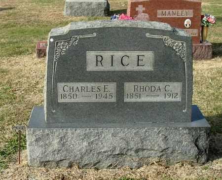 RICE, RHODA C - Gallia County, Ohio | RHODA C RICE - Ohio Gravestone Photos